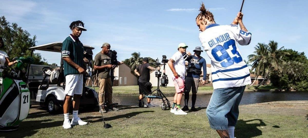 Justin Bieber joue au golfeur sur le tournage du clip de «Let It Go» !