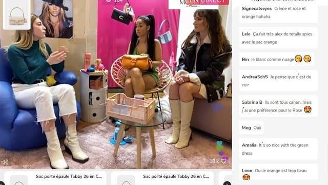 """Léna Situations se lance dans le """"live shopping"""" avec Monnier Frères !"""