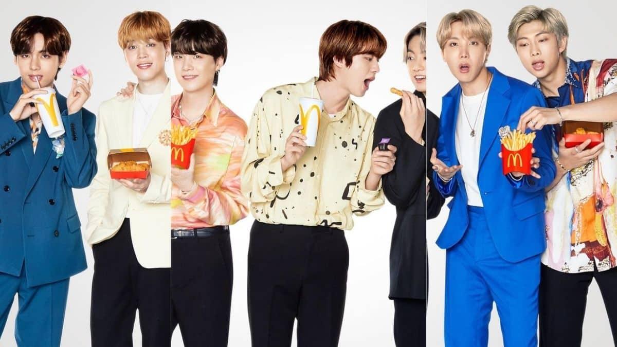 McDonald's et le groupe de K-Pop BTS dévoilent leur collaboration !