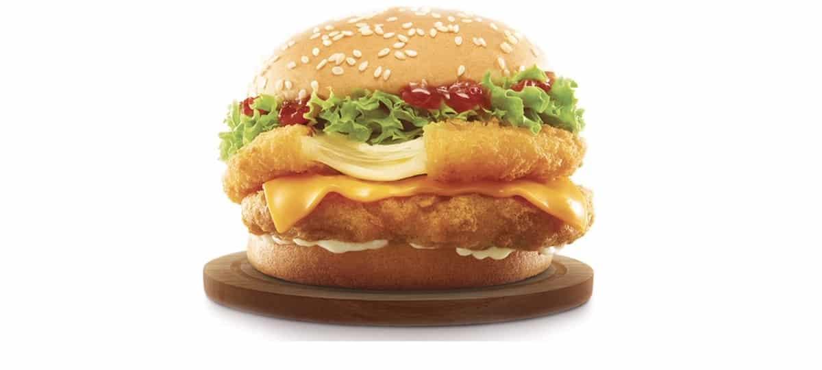 McDonald's lance un nouveau burger au poulet frit et à la mozzarella !