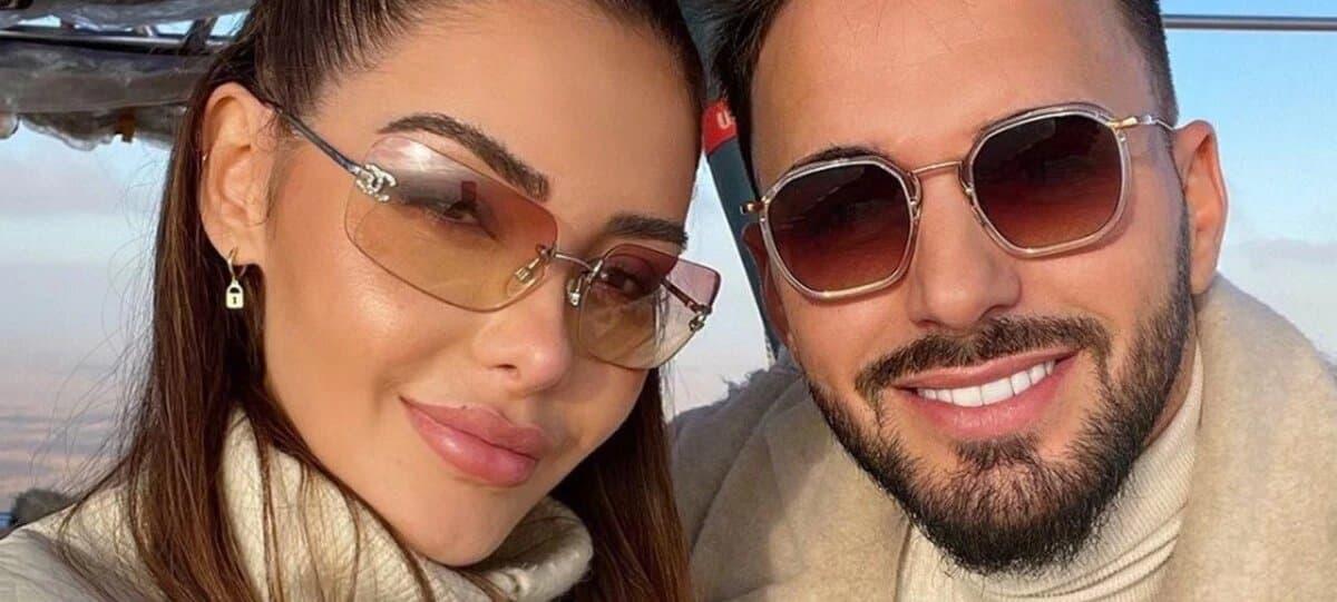 Nabilla et Thomas Vergara à Paris pour finaliser leur mariage