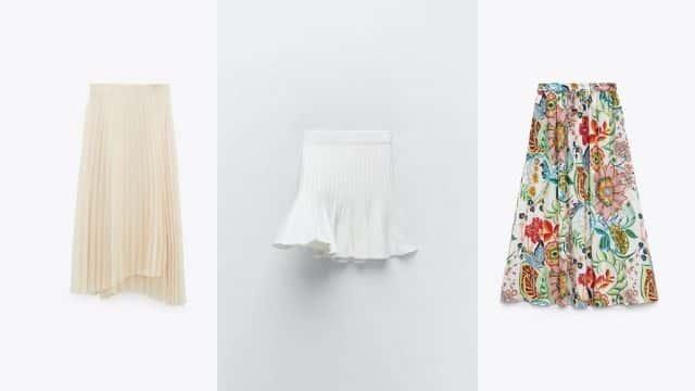 Zara: Top 5 des plus belles jupes plissées pour ses soirées d'été !