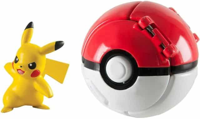 10 Lets Go Pikachu avec Jeu de Balle Action Figure Figure Toy Set pour Enfants