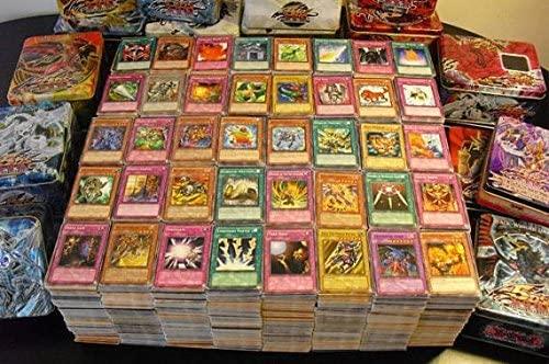 3 YU-GI-OH! Lot de 50 Cartes Françaises sans Double + 1 Carte Brillante Cadeau