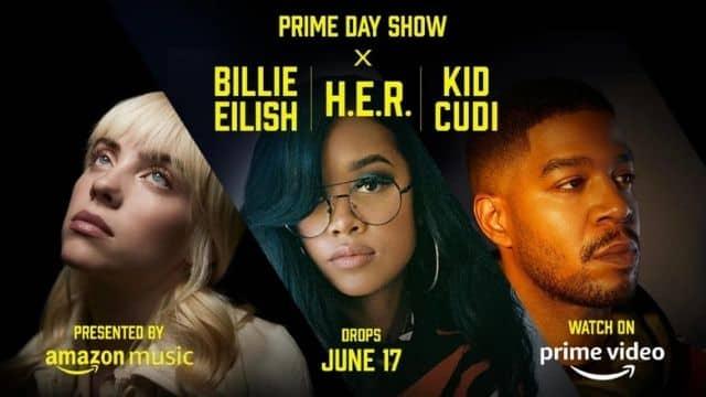 Amazon Prime: le Prime Day Show avec Billie Eilish débute le 17 juin !