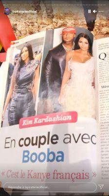 People : Kim Kardashian en couple avec Booba? La photo qui fait le buzz