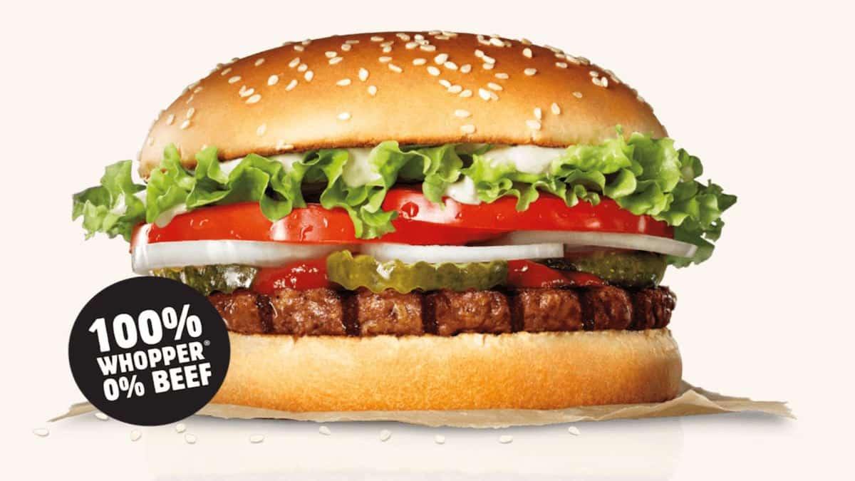 Burger King découvrez la chose la plus saine à commander au fast-food