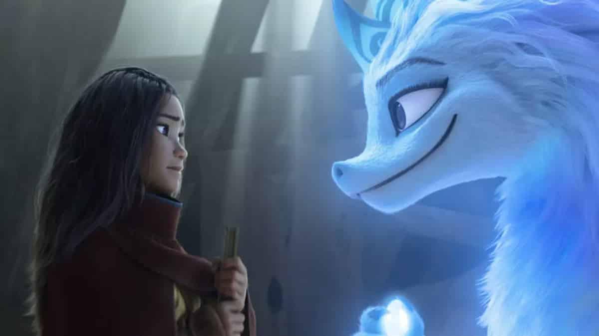 Disney+: la fille de Géraldine Nakache ultra fan de sa mère dans Raya !