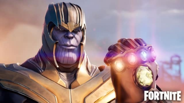 Fortnite: le skin de Thanos va bientôt voir le jour !
