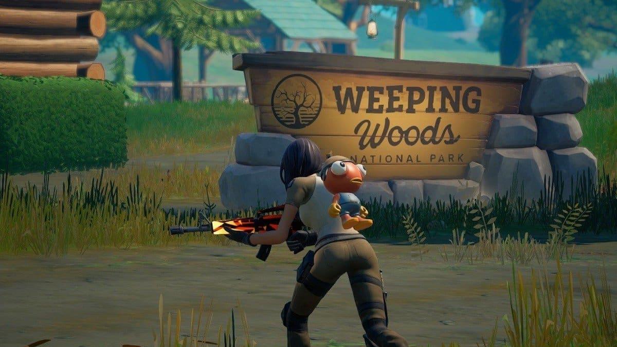 Fortnite: où placer les avis de recherche à Weeping Woods ?