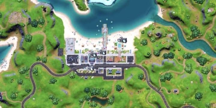Fortnite: où placer les boombox à Believer Beach et réussir le défi ?