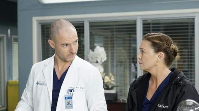 Grey's Anatomy Meredith se mettre en couple avec Hayes