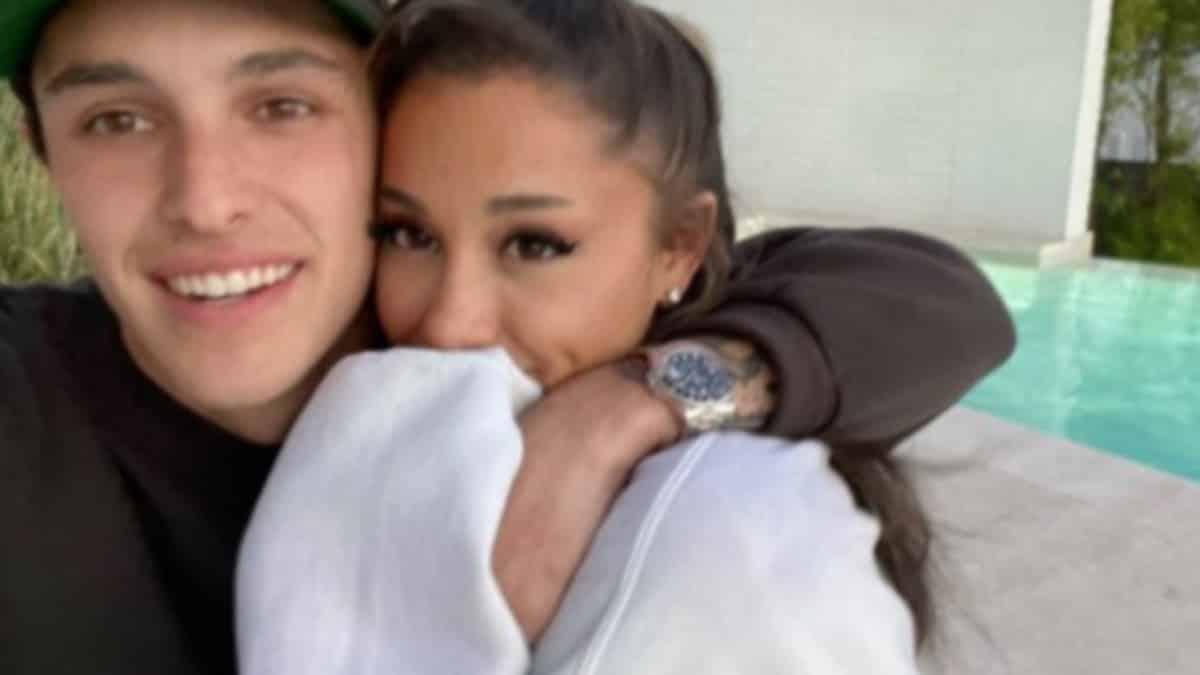 Instagram: les photos du mariage d'Ariana Grande ont cassé Internet !