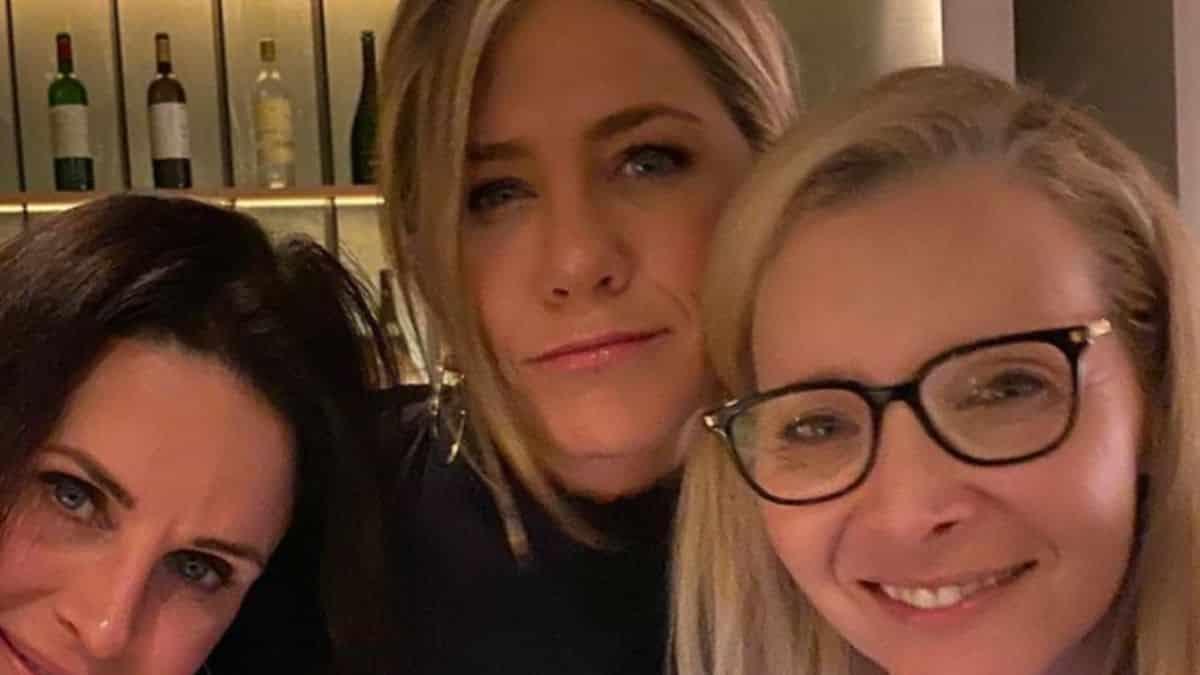 Jennifer Aniston partage les coulisses de «Friends The Reunion» !