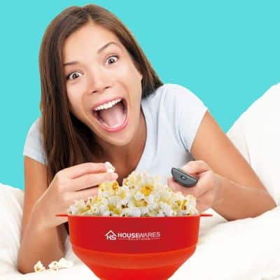 La casserole pour popcorn au micro onde. Un indispensable pour tout étudiant