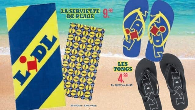 Lidl: Top 6 des tenues de plage et accessoires à avoir pour cet été !