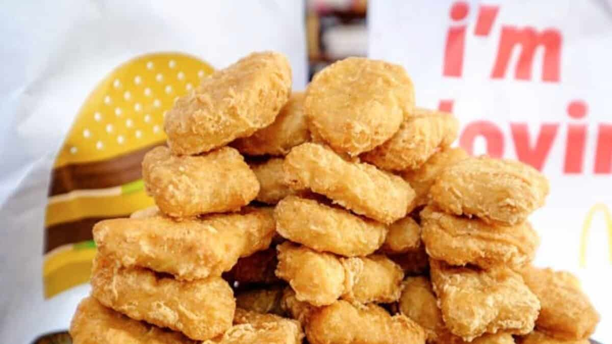 Mcdonald's un nugget très original se vend 100 000 dollars sur Ebay !