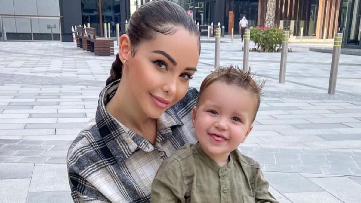 Nabilla dévoile une photo merveilleuse avec son petit garçon Milann !