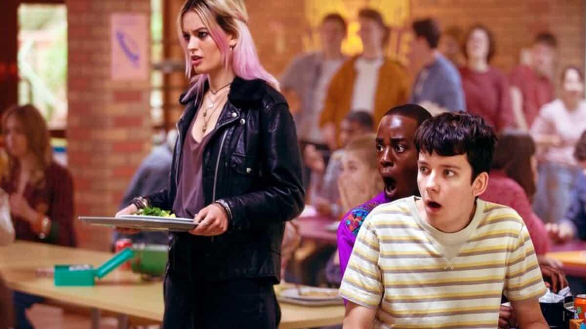 Netflix poste une photo inédite du tournage de Sex Education saison 3 !