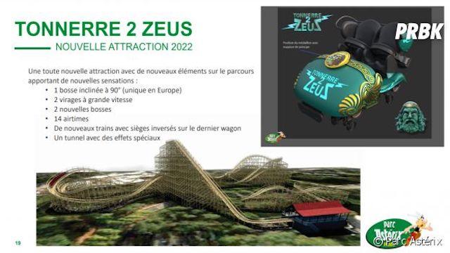 Parc Astérix va lancer l'attraction la plus rapide de France !