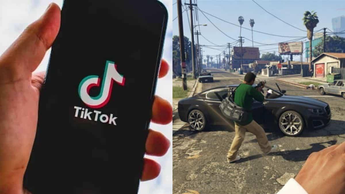 TikTok: une femme marche comme dans GTA et fait sensation !