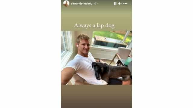 Alexander Ludwig (Vikings) dévoile une adorable photo avec son chien !