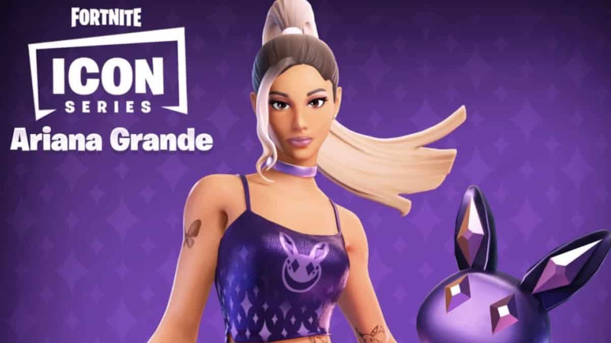 Ariana Grande: la date de son concert sur Fortnite enfin dévoilée !