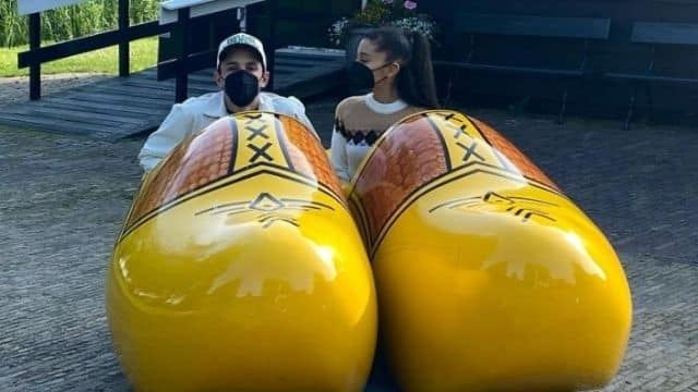 Ariana Grande partage des photos inédites de sa lune de miel !