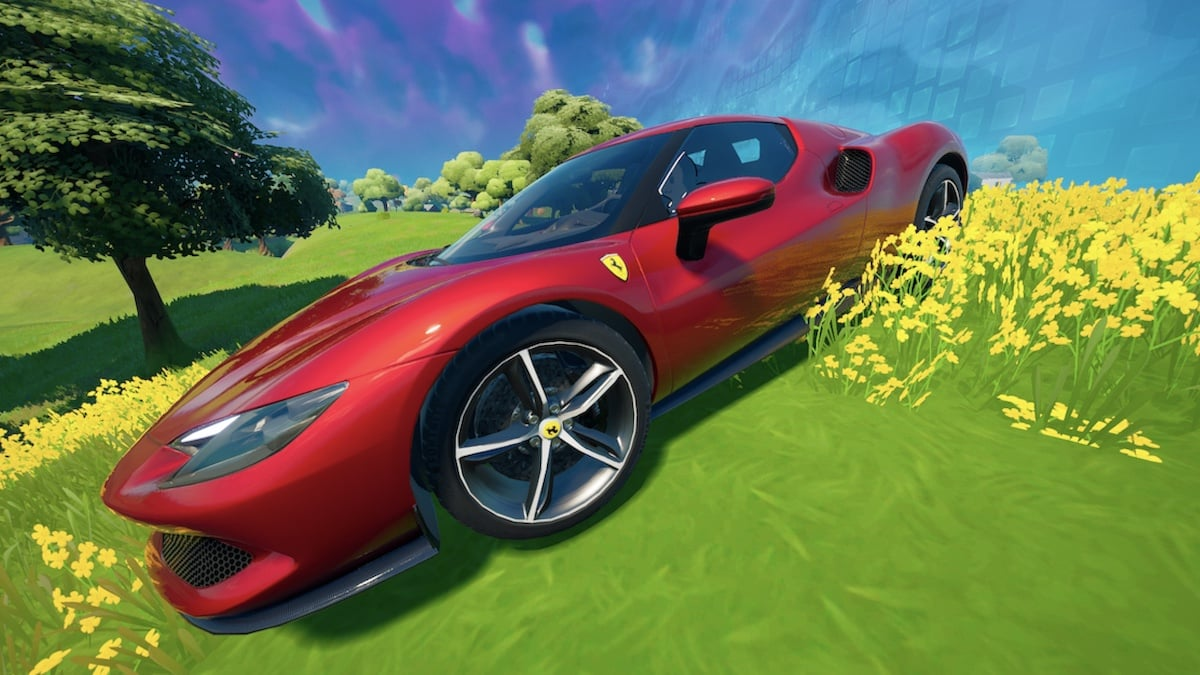Fortnite: la Ferrari 296 GT débarque enfin dans le jeu !