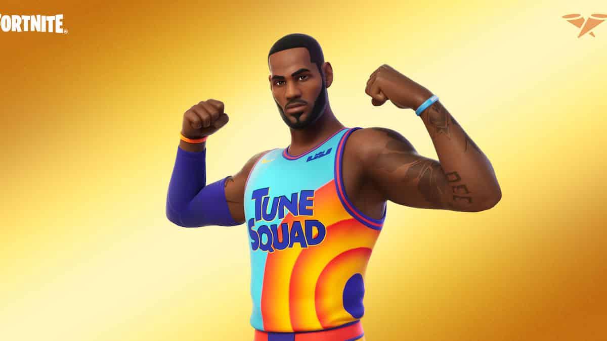 Fortnite: LeBron James rejoint enfin le casting du jeu vidéo !