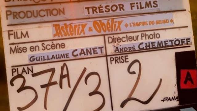 Franck Gastambide (Validé saison 2) sur le tournage d'Astérix et Obélix 5 !