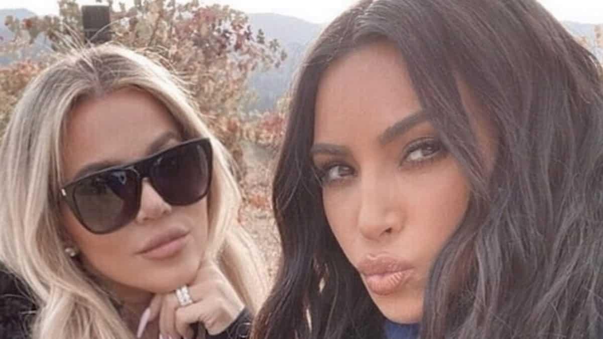 Kim Kardashian et Khloé se dévoilent torride en combinaison moulante !