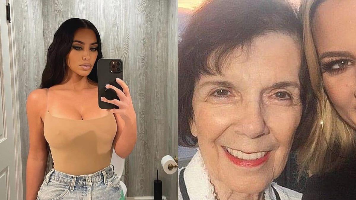 Kim Kardashian poste de rares photos avec sa mamie MJ pour ses 87 ans !