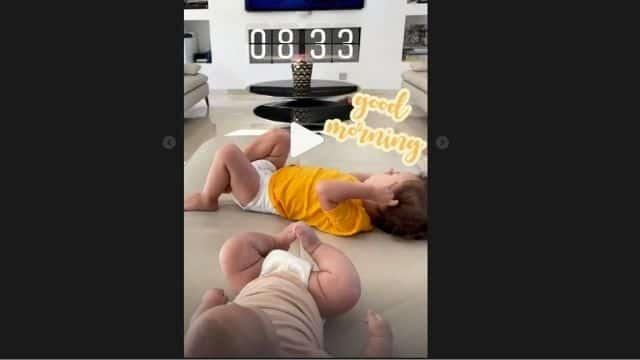 M Pokora dévoile une adorable photo de ses deux fils sur Instagram !