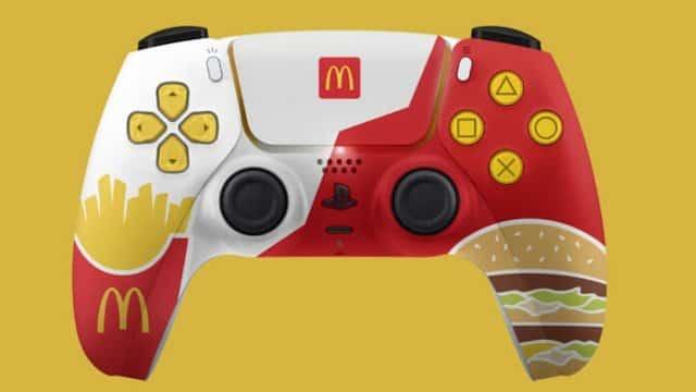 McDonald's: des manettes PS5 aux couleurs de l'enseigne à gagner !