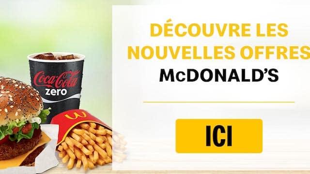 McDonald's permet aux clients de choisir des offres durant une semaine !