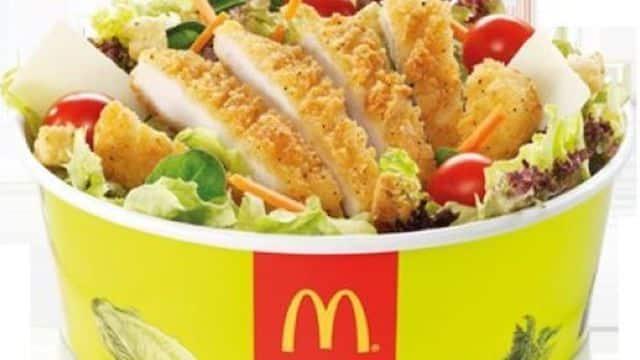 McDonald's: quel est le produit le moins calorique pour son régime ?