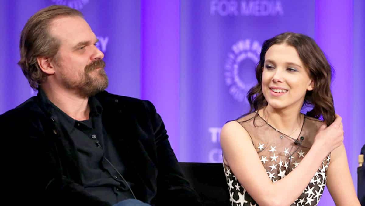 Millie Bobby Brown: David Harbour très protecteur envers l'actrice ?