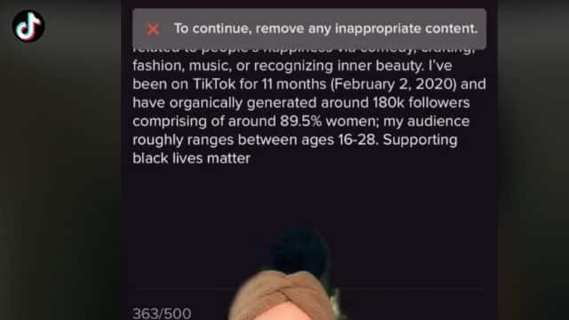 TikTok censure l'expression «Black Lives Matter» et fait polémique !