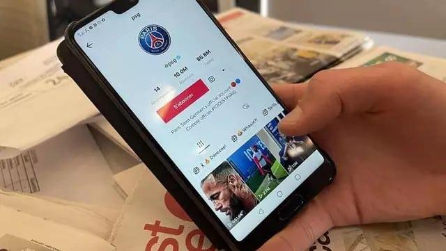 TikTok: le PSG décroche un énorme record sur le réseau social !