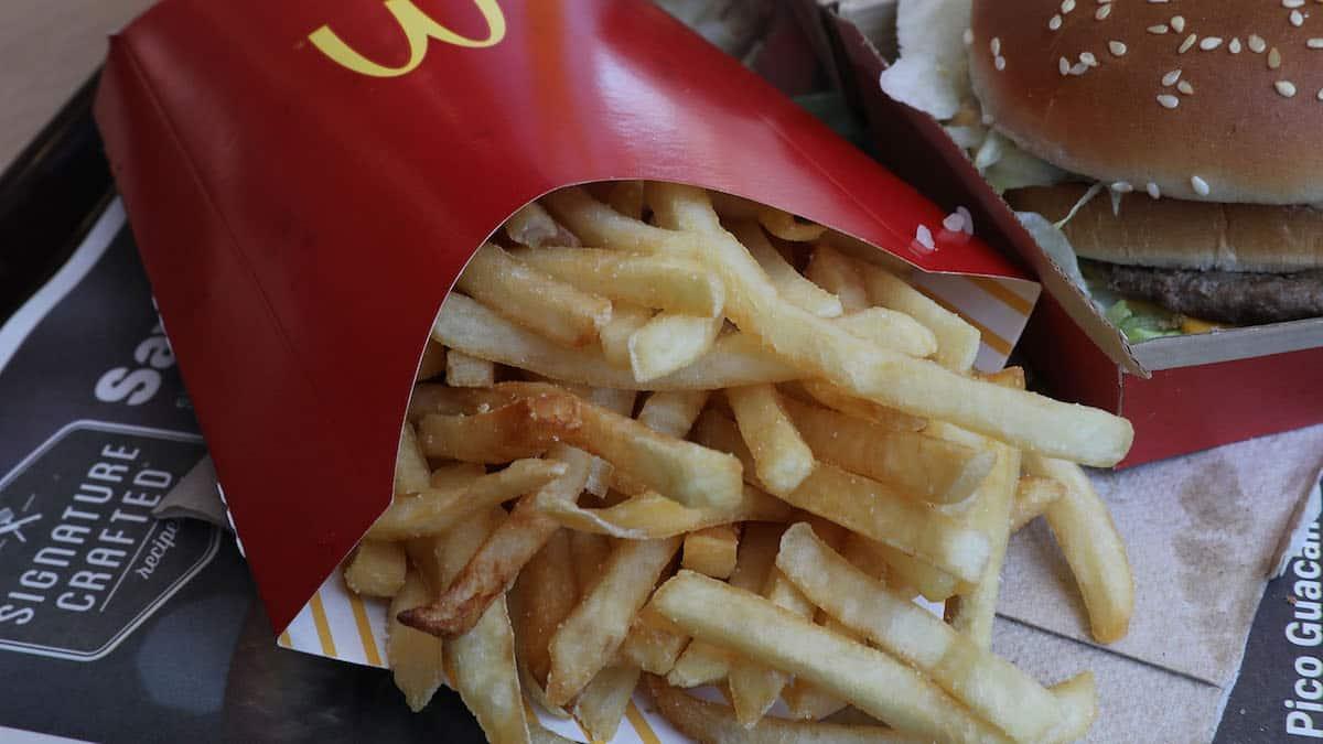 TikTok: un internaute donne son astuce pour gagner des frites Mcdo !