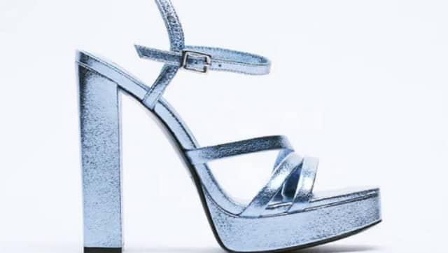 Zara s'inspire d'une grande marque pour ses jolies sandales à talons !
