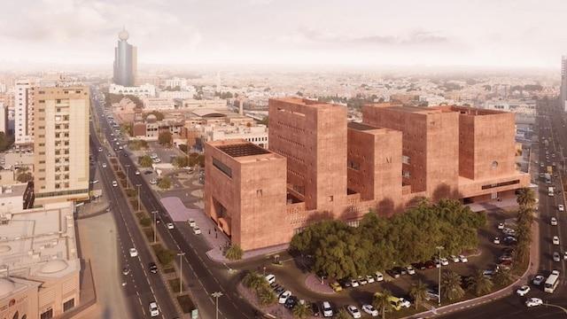 Etudiant: un futur campus en béton rose prévu aux Émirats Arabes Unis