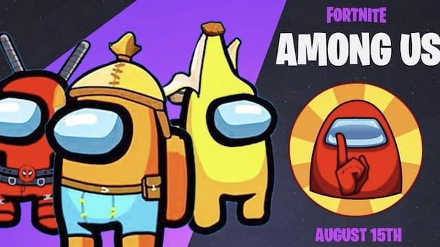 Fortnite: le mode imposteur d'Among Us débarque dans le jeu vidéo ?