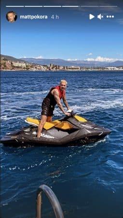 M Pokora s'éclate à fond en jet ski avec sa chérie Christina Milian !