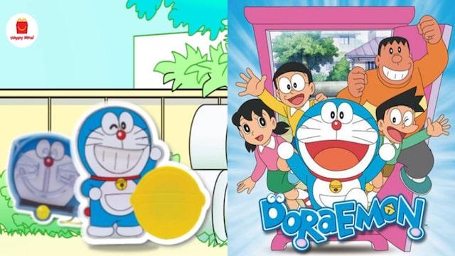Mcdonald's lance enfin ses nouveaux jouets Happy Meal Doraemon !