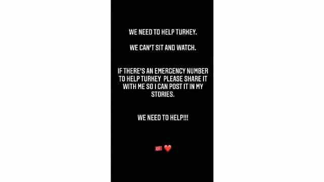 Michele Morrone lance un appel à l'aide pour la Turquie !