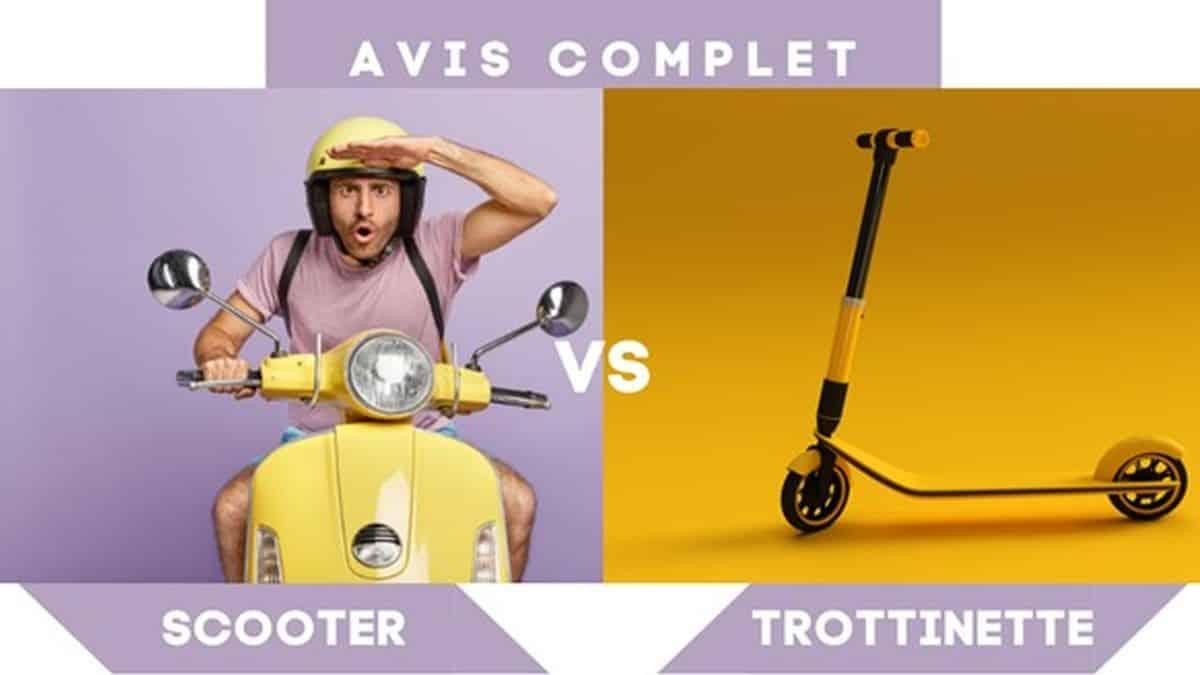 Scooter vs Trottinette Electrique lequel choisir quand on est étudiant