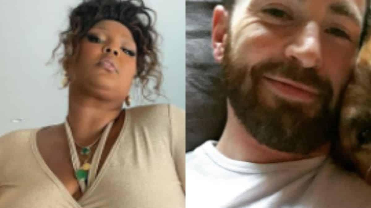 TikTok: une vidéo hilarante fait le buzz sur Lizzo et Chris Evans !