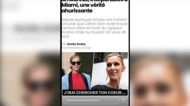 Booba s'amuse de la rumeur qui lui prête une relation avec Céline Dion !